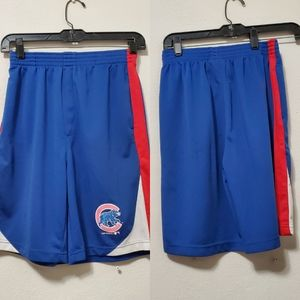 Boys Chicago Cubs Athletic Shorts